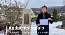 2021-01-27 Andacht zum Internationalen Gedenktag der Opfer des Nationalsozialismus by evangelischinmelsungen