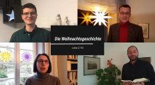 Weihnachtsgeschichte - Lukas 2, 1-20 - gelesen von Pfarrerinen und Pfarrern des Ev. Dekants Melsungen by Dekanat Melsungen